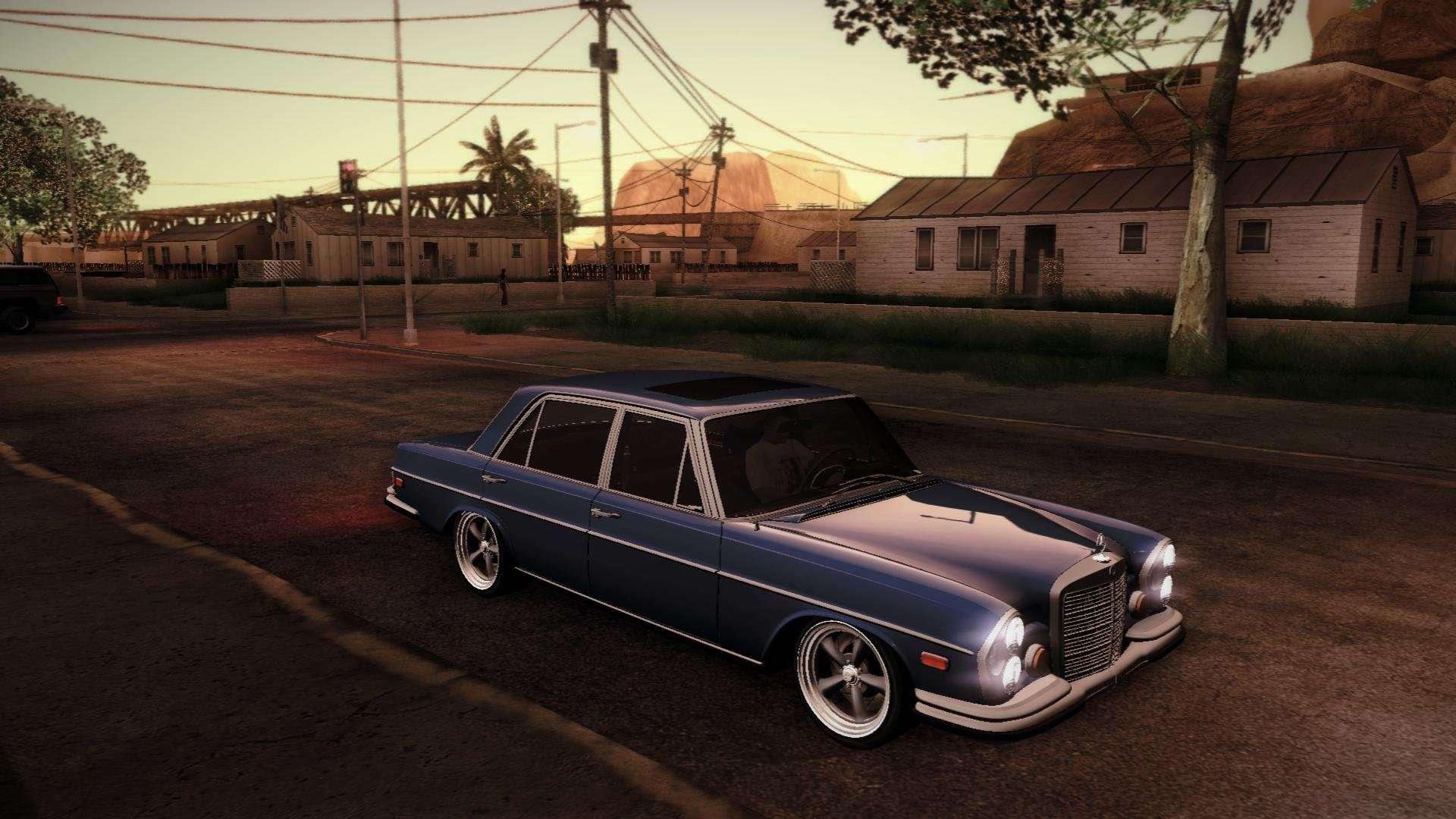 Aa Elegant Limousine >> Mercedes Benz 300 SEL - Custom RC3D Edit für GTA San Andreas