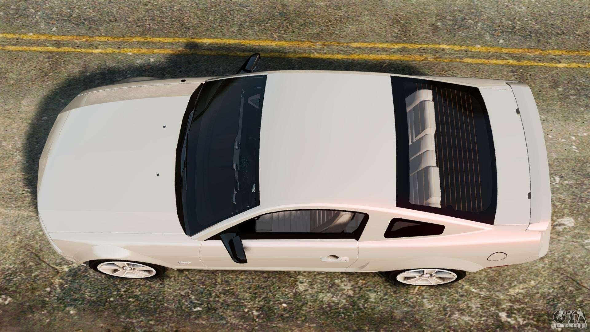 Ford Mustang GT 2005 для GTA 4 вид справа.