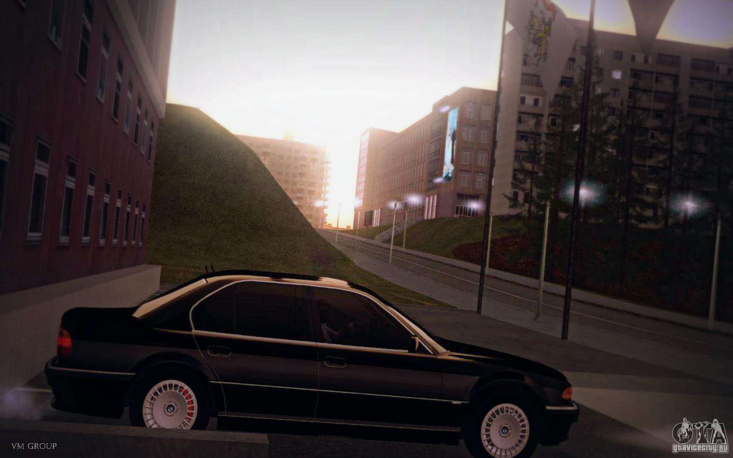 BMW 750i E38 2001 Fur GTA San Andreas Linke Ansicht