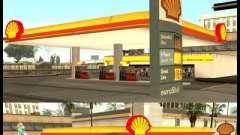 Shell station