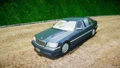 Mercedes Benz SL600 W140 1998 higher Performance