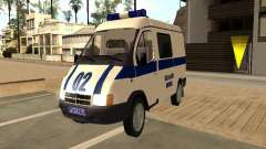GAZ 2217 Sobol POLICE
