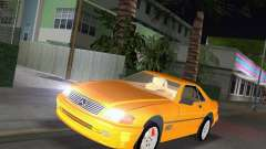 Mercedes-Benz SL600 1999 pour GTA Vice City