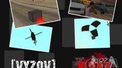 Appeler des hélicoptères avec munitions
