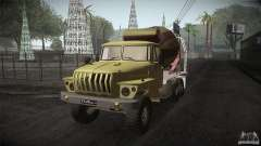 Ural 4320 bétonnière