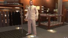 Grand costume gris-blanc pour GTA 4