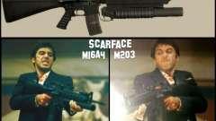 M16A4 + M203