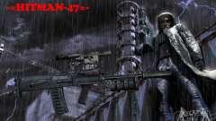 Eine Reihe von Waffen aus einem stalker