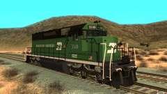 SD 40 Union Pacific Burlington Northern 3149