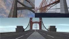Neue Texturen der drei Brücken in SF