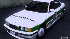BMW E34 Policija