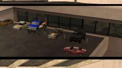 Cars shop in San-Fierro beta für GTA San Andreas