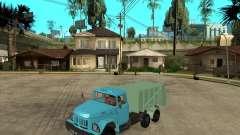 Camion à ordures ZIL 131