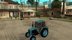 Tracteur Belarus 80,1 et remorque pour GTA San Andreas