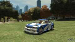 BMW M3 GTR NFS MOST WANTED für GTA 4