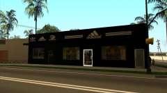 Vollständiger Ersatz der Binco Store Adidas