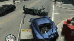 Realistische Auto Schaden