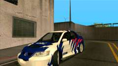Mitsubishi Lancer Evolution 8 MostWanted pour GTA San Andreas
