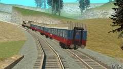 La voiture des chemins de fer russes Russie