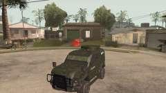 Oshkosh SandCat of Mexican Army