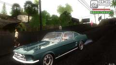 Ford Mustang 1967 American tuning für GTA San Andreas
