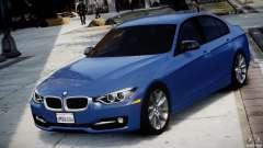 BMW 335i E30 2012 Sport Line v1.0 pour GTA 4