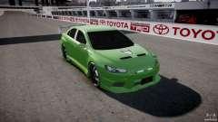 Mitsubishi Lancer Evolution X Tuning für GTA 4