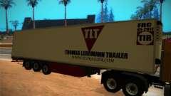 Kühlschrank-trailer