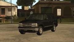 Chevrolet Suburban FBI pour GTA San Andreas
