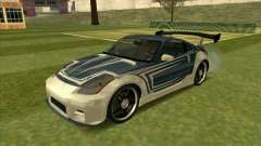 Nissan 350Z Chay from FnF 3 für GTA San Andreas