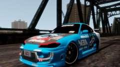 Nissm Silvia S15 Blue Tiger