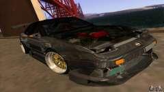 Nissan 180SX Gkon - Drift chrome für GTA San Andreas