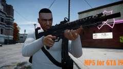 MP5 (CoD: Modern Warfare 3) für GTA 4