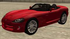 Dodge Viper SRT-10 Roadster pour GTA San Andreas