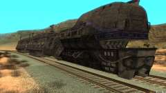 Un train reliant le jeu Aliens vs Predator v1