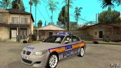 Metropolitan Police BMW 5 Series Saloon