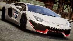 Lamborghini Aventador LP700-4 2012 USAF pour GTA 4