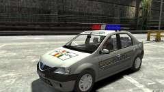 Dacia Logan Prestige Politie für GTA 4