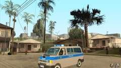 Volkswagen Transporter T4 German Police für GTA San Andreas