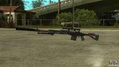 MK14 EBR mit Schalldämpfer