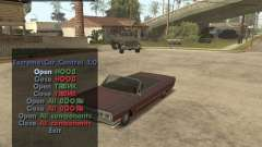 Extreme Car Mod (Single Player) pour GTA San Andreas
