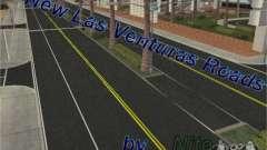 Construction de nouvelles routes à Las Venturas