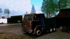 Camion à benne basculante KAMAZ 6520