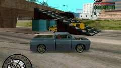 Springt auf der Autobahn in Las Venturase