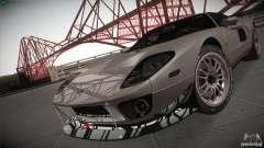 Ford GT de l'argent pour GTA San Andreas