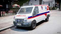 Ford Transit Polish Ambulance [ELS]