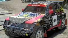 Mitsubishi Pajero Proto Dakar EK86 vinyle 1