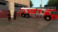 Caserne de pompiers réaliste dans SF v2.0