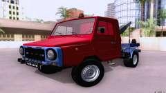 Camion de remorquage LuAZ 13021