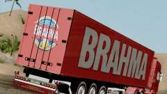 Remorque pour Scania R620 Brahma